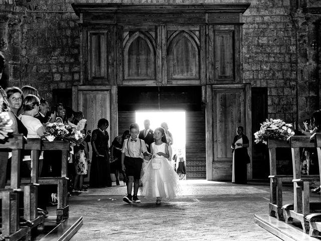 Il matrimonio di Nobe e Danilo a San Martino al Cimino, Viterbo 18