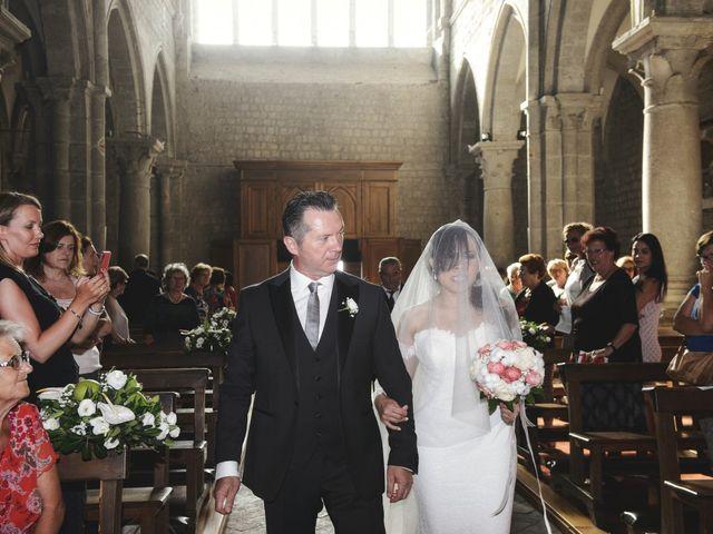 Il matrimonio di Nobe e Danilo a San Martino al Cimino, Viterbo 19