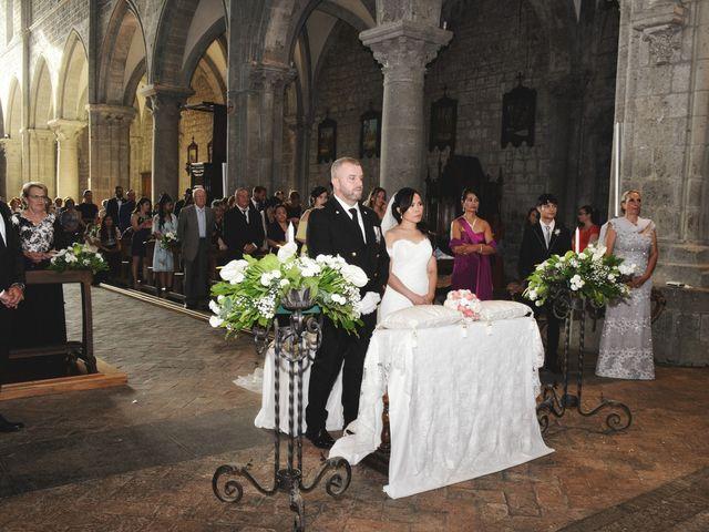 Il matrimonio di Nobe e Danilo a San Martino al Cimino, Viterbo 20