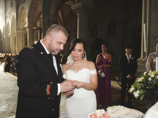 Il matrimonio di Nobe e Danilo a San Martino al Cimino, Viterbo 21