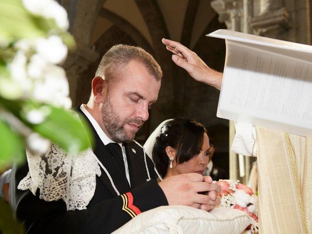 Il matrimonio di Nobe e Danilo a San Martino al Cimino, Viterbo 23