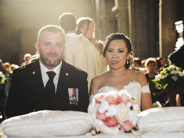 Il matrimonio di Nobe e Danilo a San Martino al Cimino, Viterbo 24