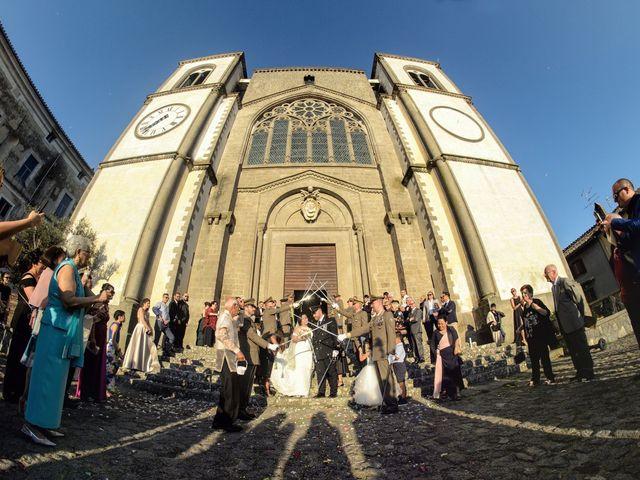 Il matrimonio di Nobe e Danilo a San Martino al Cimino, Viterbo 26