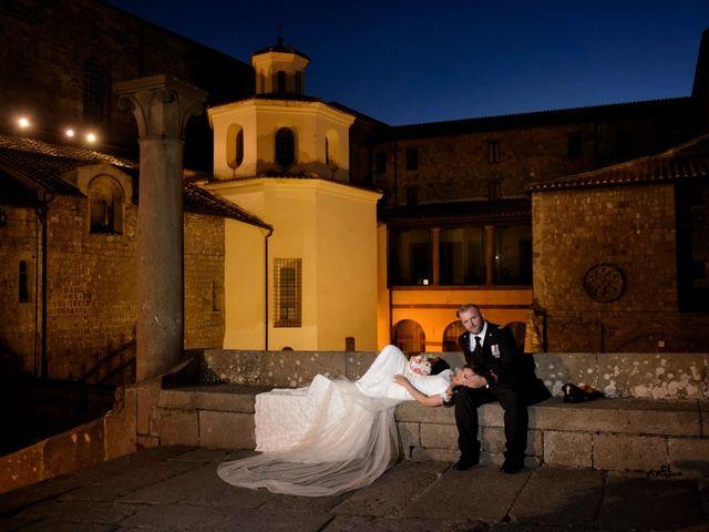 Il matrimonio di Nobe e Danilo a San Martino al Cimino, Viterbo 29