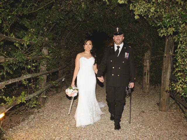 Il matrimonio di Nobe e Danilo a San Martino al Cimino, Viterbo 30