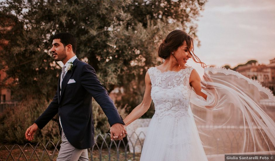 Il matrimonio di Alberto e Fabia a Roma, Roma