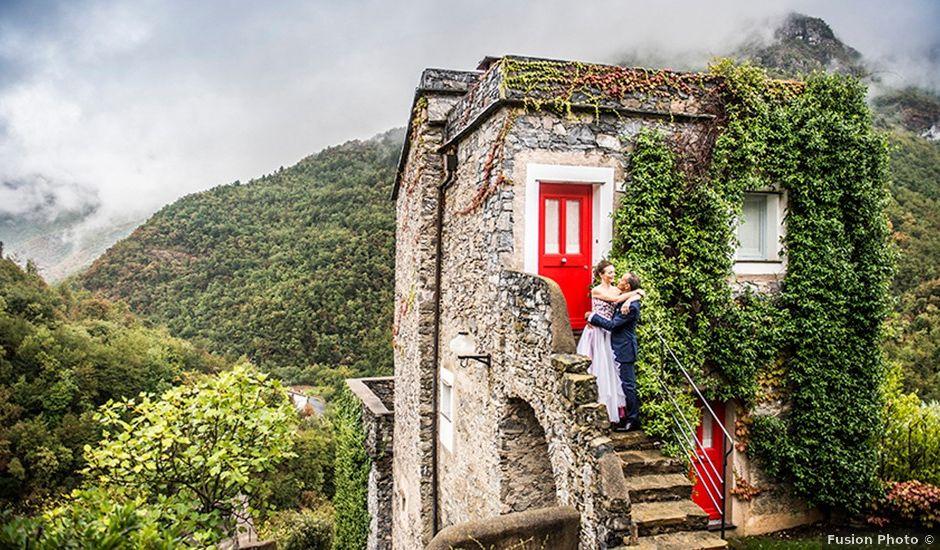 Il matrimonio di Mauro e Maria a Castelbianco, Savona