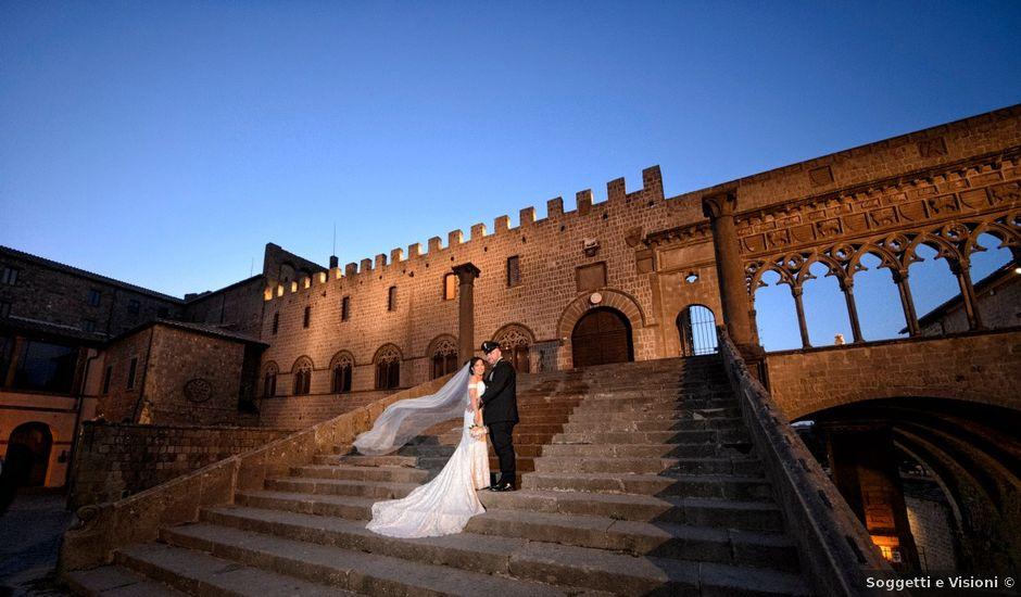 Il matrimonio di Nobe e Danilo a San Martino al Cimino, Viterbo