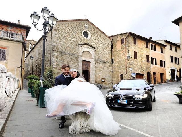 Il matrimonio di Marco e Gloria a Montalcino, Siena 22