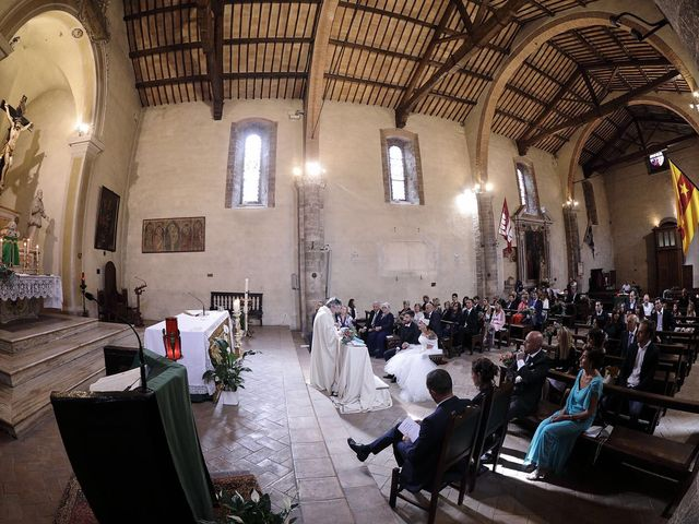 Il matrimonio di Marco e Gloria a Montalcino, Siena 23