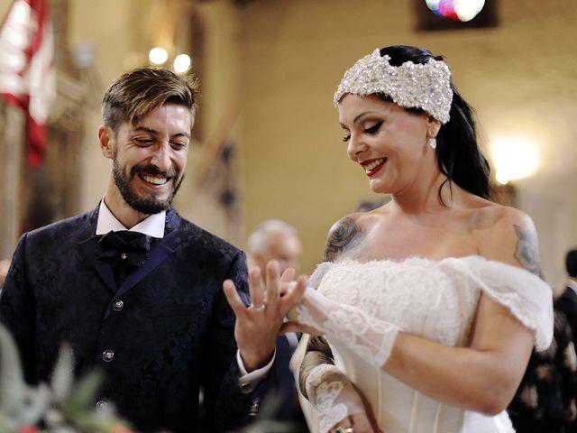 Il matrimonio di Marco e Gloria a Montalcino, Siena 24