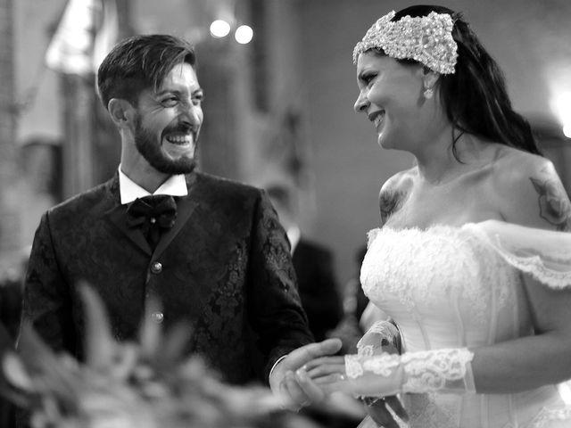 Il matrimonio di Marco e Gloria a Montalcino, Siena 25