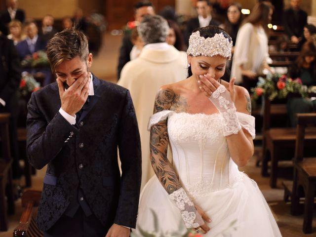 Il matrimonio di Marco e Gloria a Montalcino, Siena 27