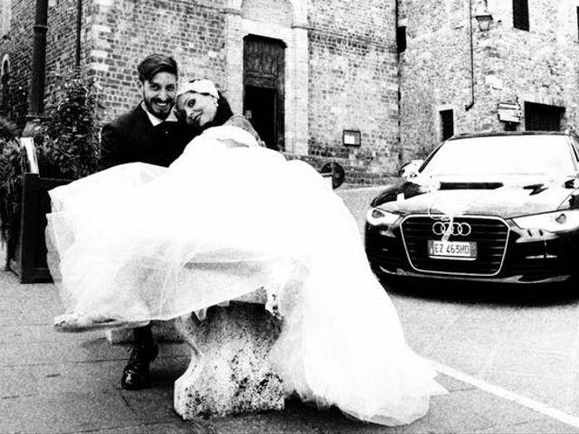 Il matrimonio di Marco e Gloria a Montalcino, Siena 28