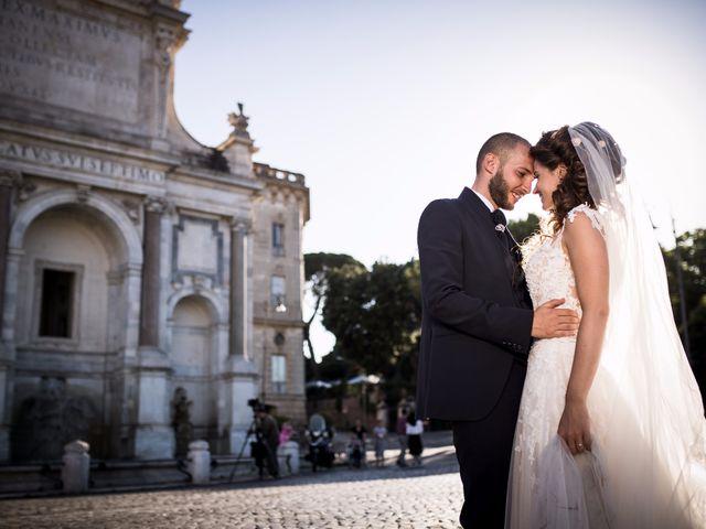 Il matrimonio di Valerio e Valentina a Roma, Roma 39