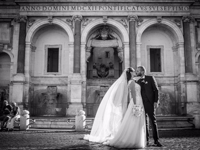 Il matrimonio di Valerio e Valentina a Roma, Roma 40