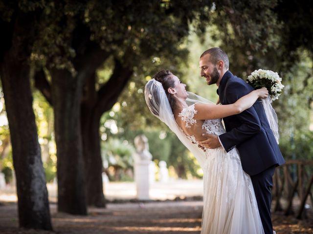 Il matrimonio di Valerio e Valentina a Roma, Roma 48