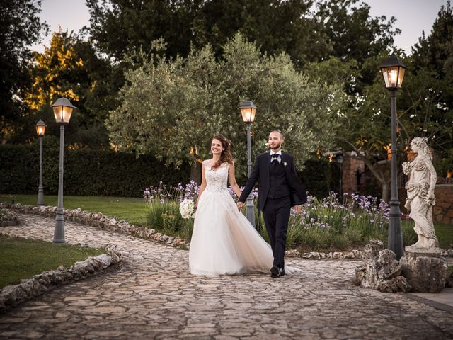 Il matrimonio di Valerio e Valentina a Roma, Roma 56