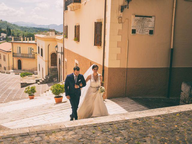 Il matrimonio di Emanuele e Veronica a Settefrati, Frosinone 32