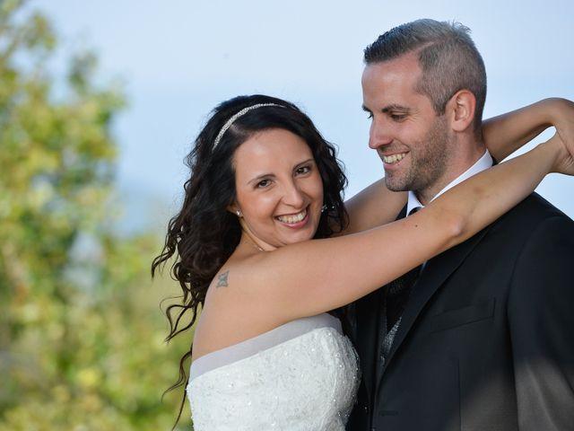 le nozze di Marisa e Ruben