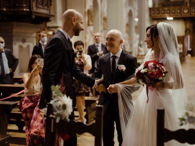 Il matrimonio di Fabrizio e Giorgia a Merone, Como 27