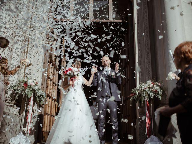 Il matrimonio di Fabrizio e Giorgia a Merone, Como 35