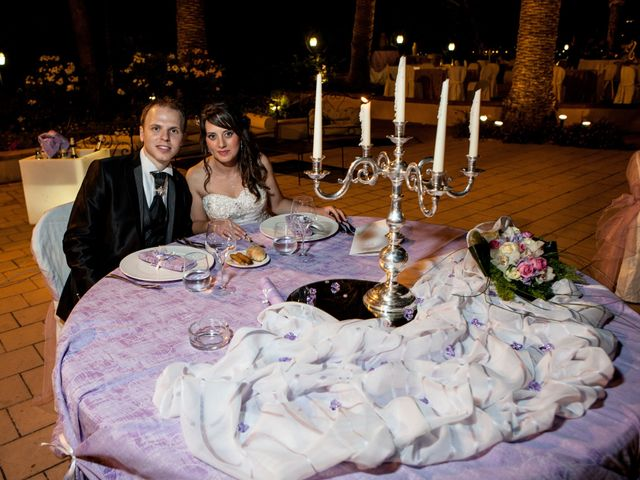 le nozze di Calogero e Silvia