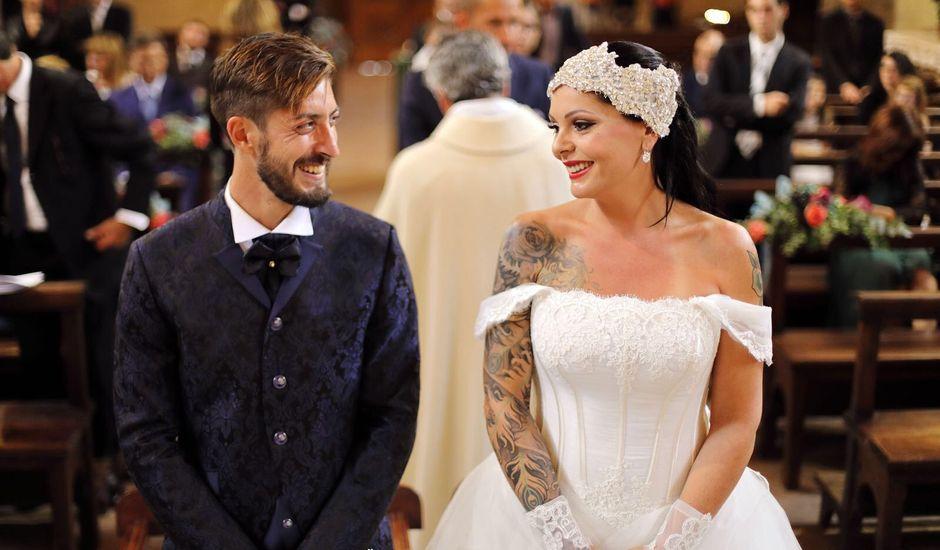 Il matrimonio di Marco e Gloria a Montalcino, Siena
