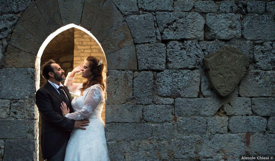 Il matrimonio di Luigi e Irene a San Gimignano, Siena