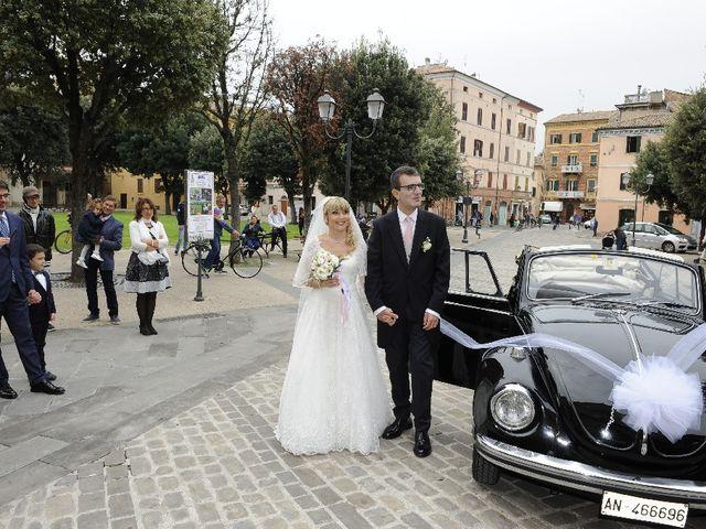 Il matrimonio di Emanuele  e Isabella a Chiaravalle, Ancona 21
