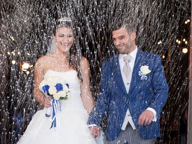 Le nozze di Romina e Rosario