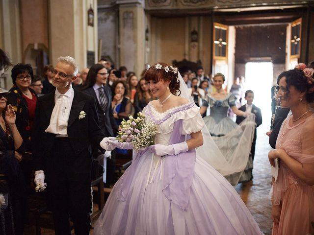 Il matrimonio di Eduardo e Camilla a Giussago, Pavia 17
