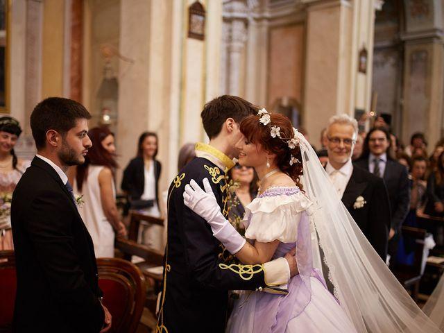 Il matrimonio di Eduardo e Camilla a Giussago, Pavia 19