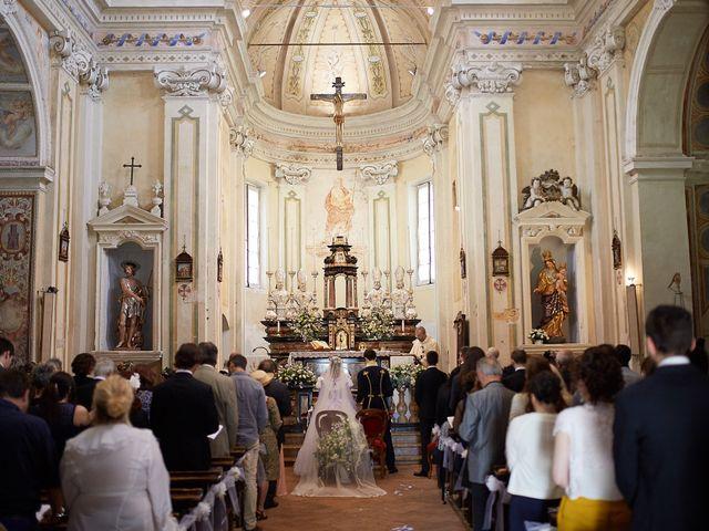 Il matrimonio di Eduardo e Camilla a Giussago, Pavia 20