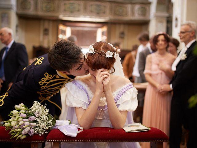 Il matrimonio di Eduardo e Camilla a Giussago, Pavia 1