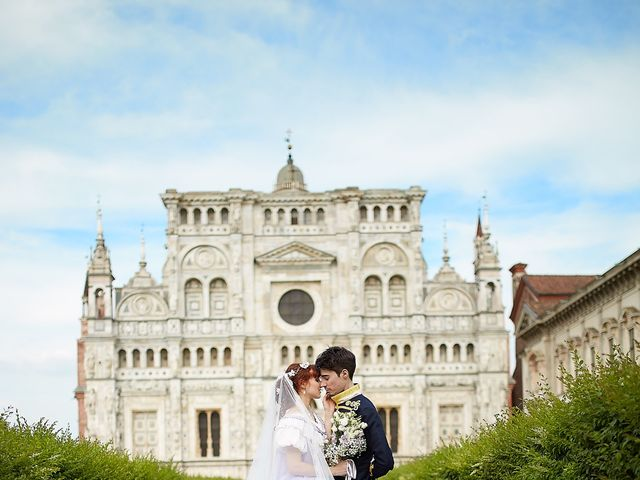 Il matrimonio di Eduardo e Camilla a Giussago, Pavia 26