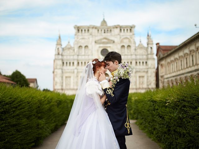 Il matrimonio di Eduardo e Camilla a Giussago, Pavia 28