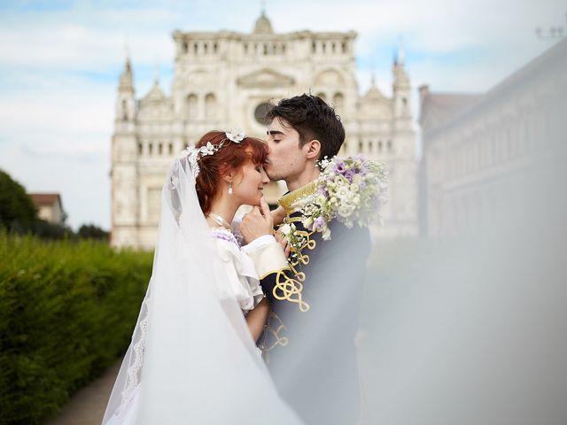 Il matrimonio di Eduardo e Camilla a Giussago, Pavia 30