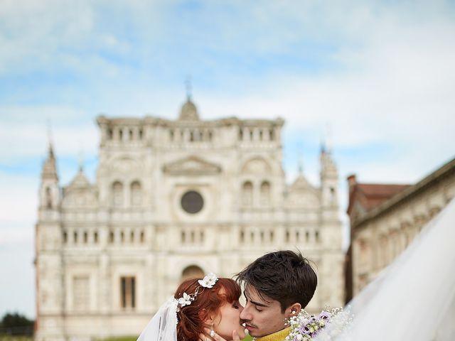 Il matrimonio di Eduardo e Camilla a Giussago, Pavia 32