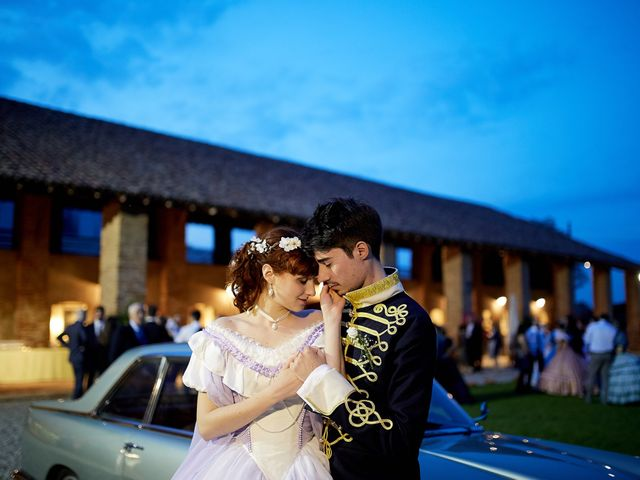 Il matrimonio di Eduardo e Camilla a Giussago, Pavia 78