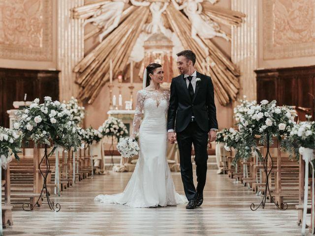 Il matrimonio di Matteo e Verdiana a Rocca di Papa, Roma 45