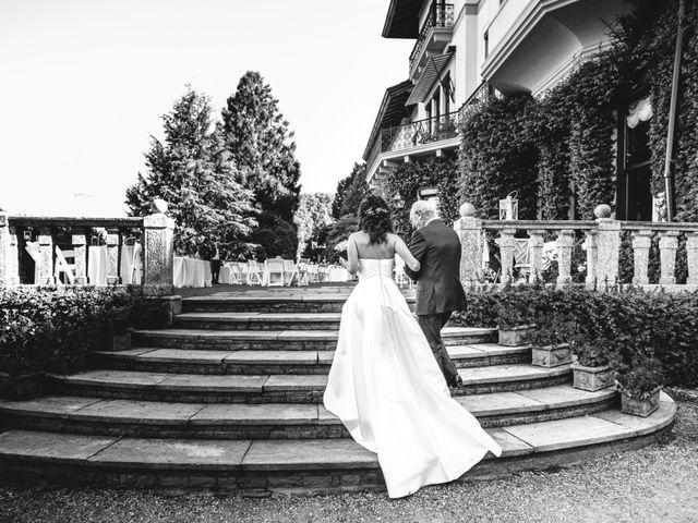 Il matrimonio di Francesco e Roberta a Belgirate, Verbania 16