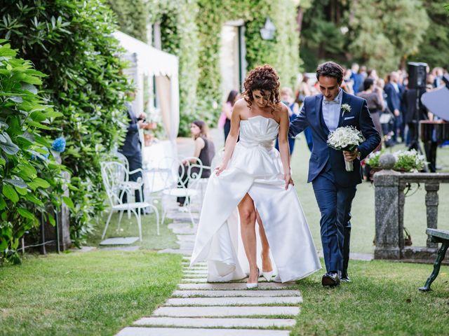 Il matrimonio di Francesco e Roberta a Belgirate, Verbania 44