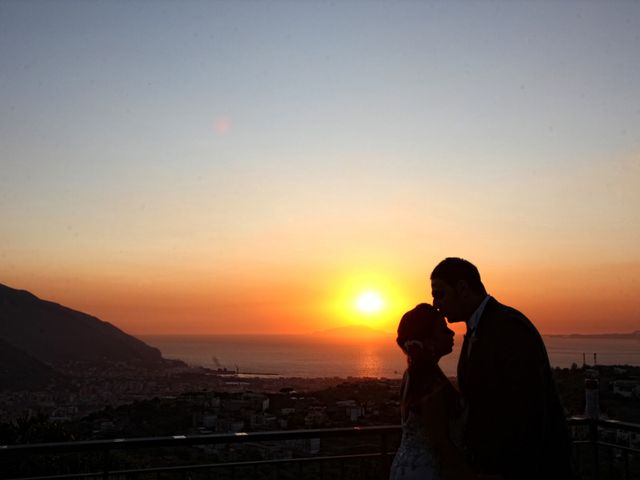 Il matrimonio di Anna e Davide a Lettere, Napoli 1