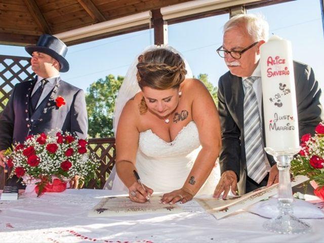 Il matrimonio di Saverio e Alice a Cecina, Livorno 36