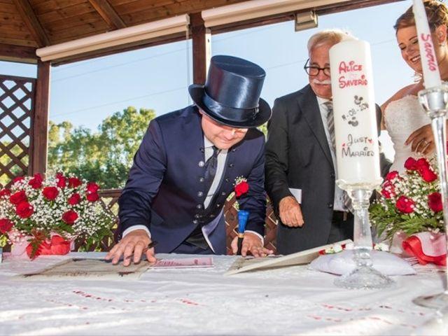 Il matrimonio di Saverio e Alice a Cecina, Livorno 37
