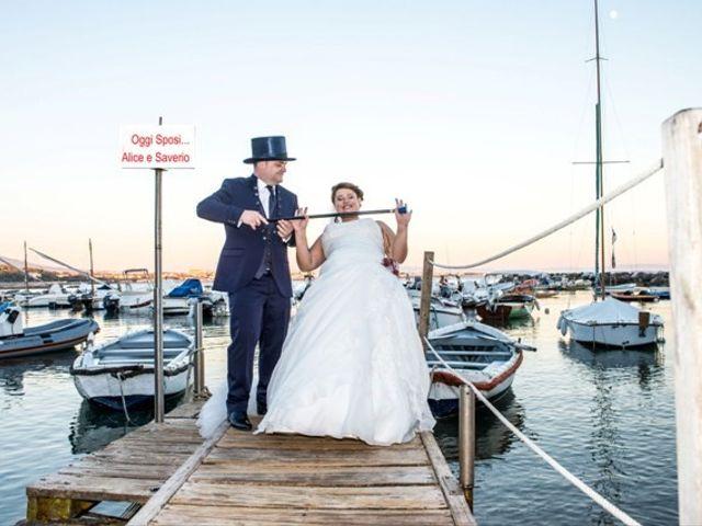Il matrimonio di Saverio e Alice a Cecina, Livorno 48