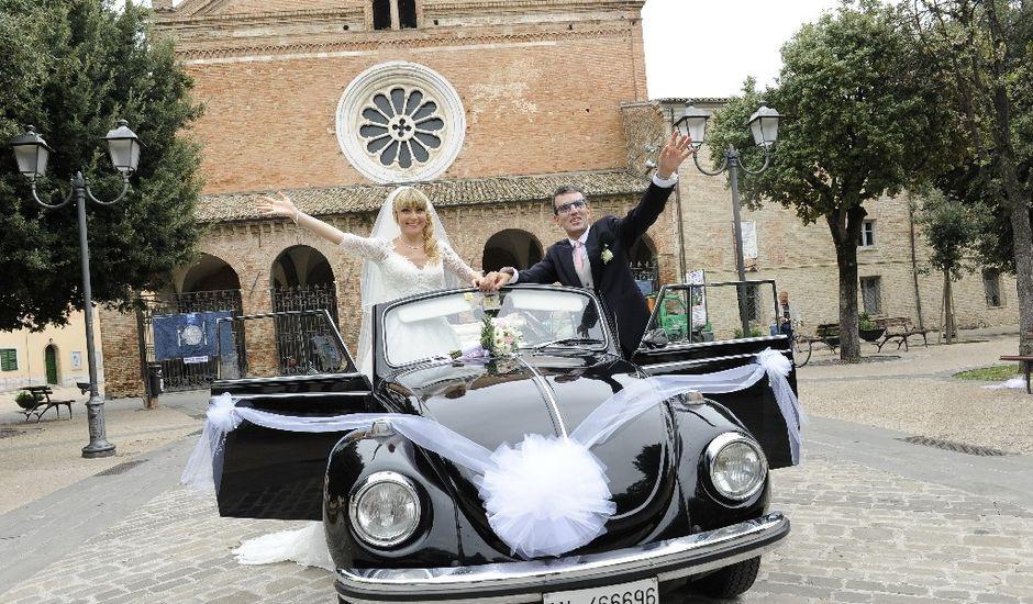 Il matrimonio di Emanuele  e Isabella a Chiaravalle, Ancona