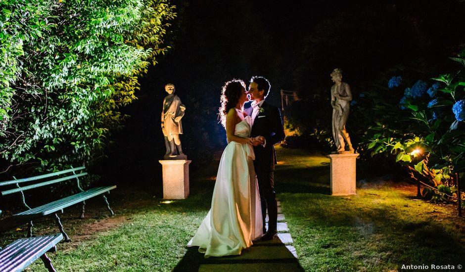 Il matrimonio di Francesco e Roberta a Belgirate, Verbania