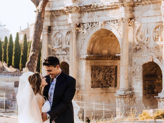 Il matrimonio di Alessio e Pamela a Roma, Roma 28